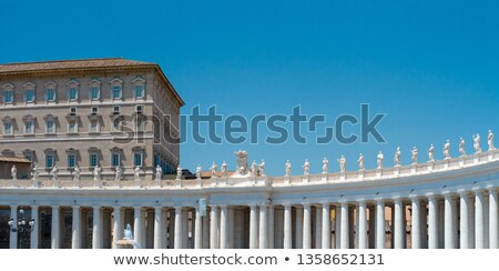 Palota ablak Szent Péter Bazilika Róma Olaszország épület Stock fotó © vladacanon