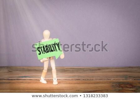 Paper Man with iweight loss Bubble Stock photo © kbuntu