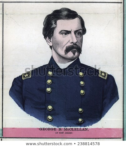 General McClellan Stock photo © Stocksnapper