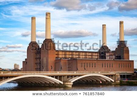 Londra siyah beyaz görüntü mimari Avrupa Stok fotoğraf © fazon1