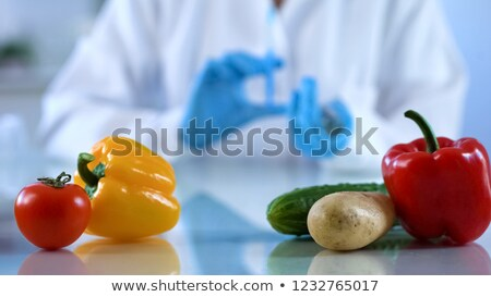 researcher vegetable experiment stock photo © smithore