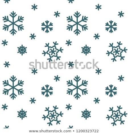 Geada padrões janela vidro inverno neve Foto stock © dmitry_rukhlenko