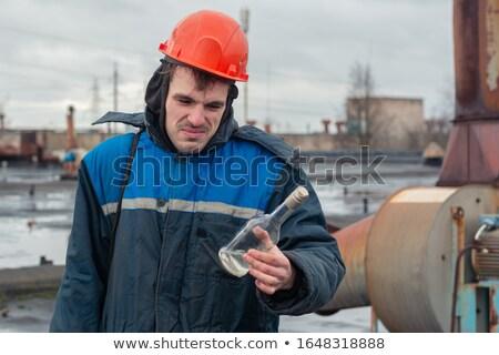 экспозиция Cartoon человека смешные пениса мужчины Сток-фото © blamb