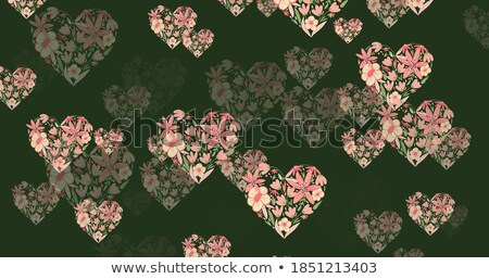 Multiple hearts on abstract background Stock photo © damonshuck