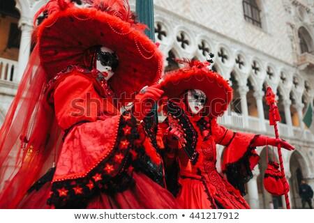 Two stunning ladies in a romantic pose stock photo © konradbak