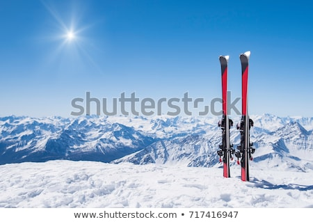 pair of skis Stock photo © ozaiachin