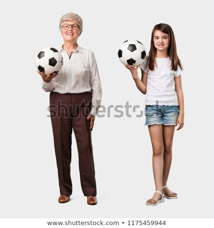 old lady playing with granddaughter stock photo © photography33