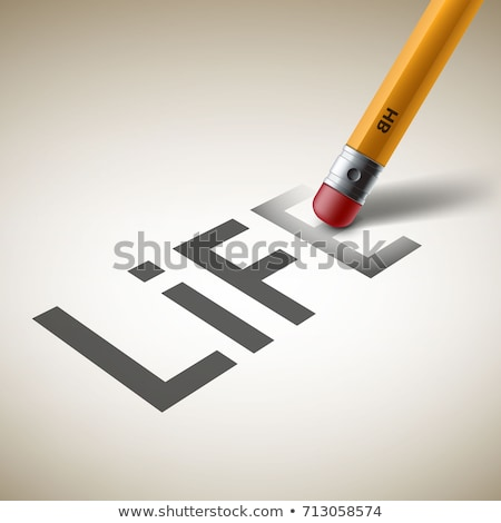 eraser and word failure Stock photo © devon