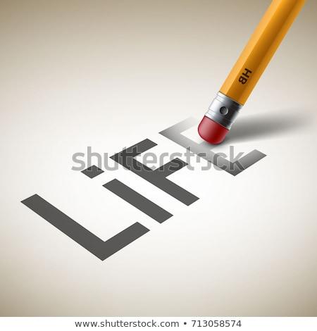 borrador · palabra · fracaso - foto stock © devon
