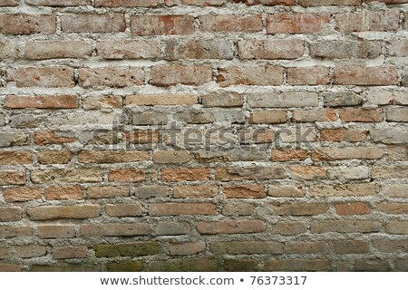 Old English brick wall black and white background. stock ...