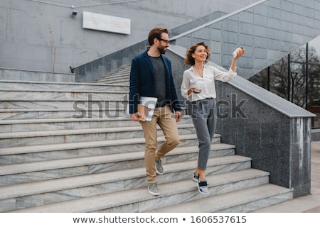 Couple in city centre Stock photo © photography33