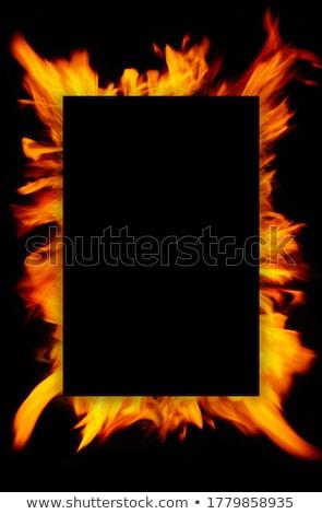 Hot Fire Flames Stock photo © ArenaCreative