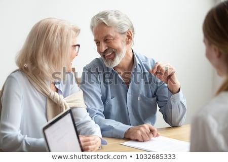 senior businessman ready to retire stock photo © photography33
