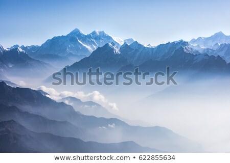 Berg landschap himalayas reizen hemel Stockfoto © Arsgera