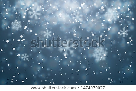 Neve textura lago sibéria abstrato natureza Foto stock © zastavkin