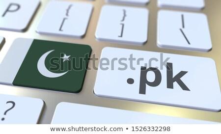 インターネット ドメイン パキスタン ストックフォト © perysty