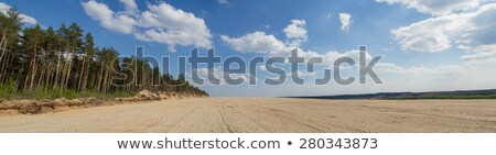 gravel pit into natural area Stock photo © PixelsAway