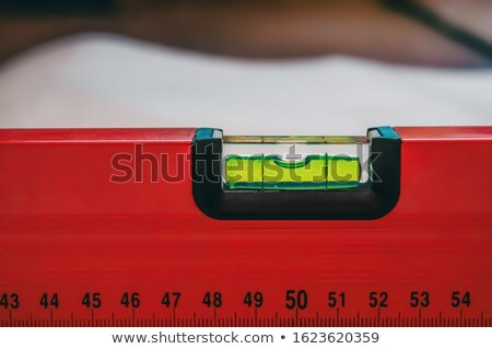 Laborer with spirit level Stock photo © photography33