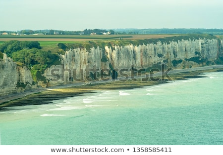 High cliffs. Normady, France stock photo © pkirillov