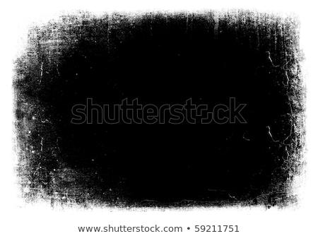 Máscara de textura grunge con espacio para texto bordes aislados Foto stock © pashabo