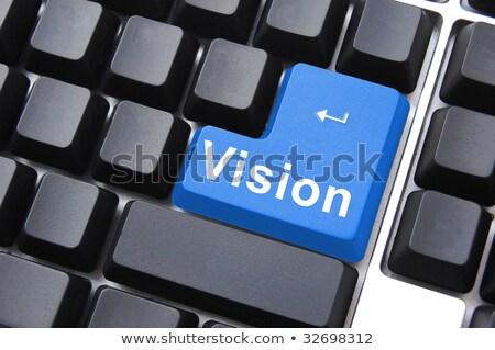 Visión botón idea creatividad éxito Foto stock © fotoscool