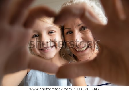 granddaughter and granny Stock photo © photography33