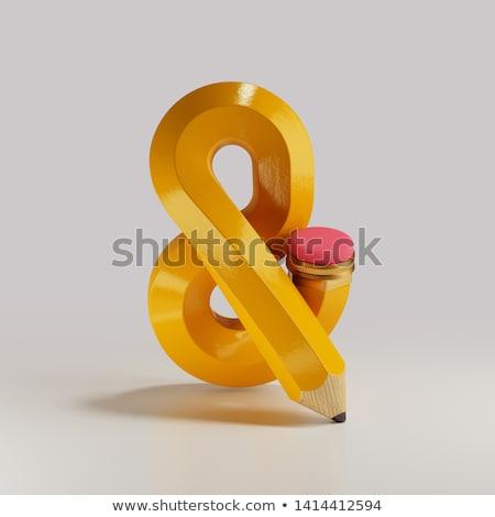 nem · megengedett · felirat · fehér · absztrakt · vektor - stock fotó © robertosch