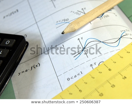 graphs ans calculations Stock photo © feedough