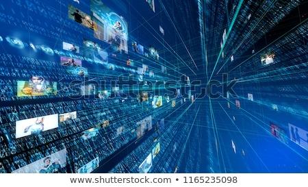 ダウンロード デジタル ディストリビューション コンテンツ シンボル インターネット ストックフォト © Lightsource