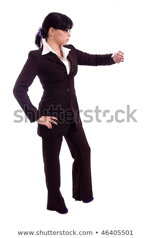 Attractive woman looking at her agenda Stock photo © photography33