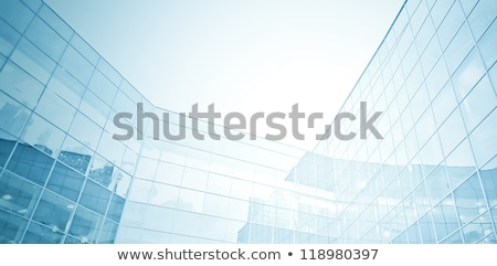 the prospect of the building on a blue background Stock photo © butenkow