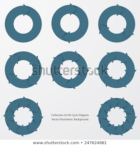 software · sviluppo · ciclo · infografica · design · disegno - foto d'archivio © limbi007
