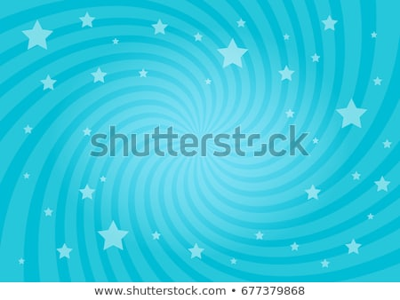 Blue Background - Light, Color and Shine of Twirl and Swirl stock photo © Livingwild
