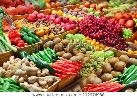 alimentos · tienda · beber · rojo · mercado · supermercado - foto stock © Catuncia