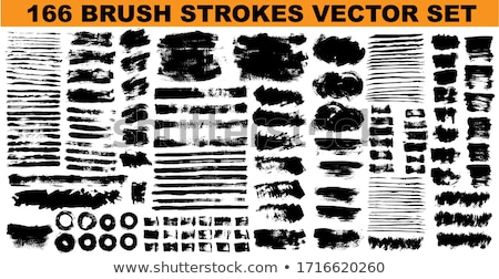 abstract grunge splash brush strokes stock photo © burakowski