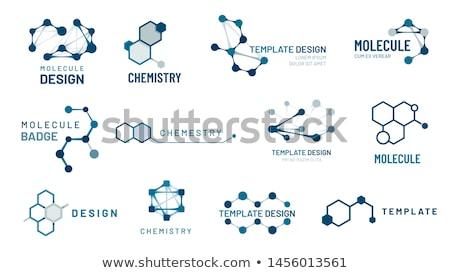 ícone · química · conexão · cor · projeto · médico - foto stock © burakowski