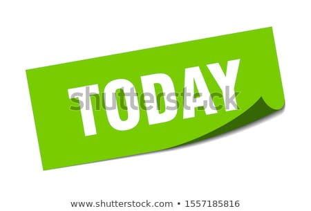 今日 ビジネスマン 交差 オフ 明日 黄色 ストックフォト © stevanovicigor