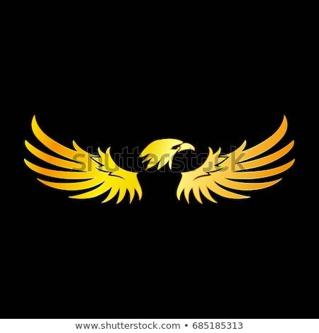 águila mascota símbolo emblema Foto stock © HunterX