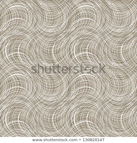Brown stitched fabric texture vector background    Stock photo © sanjanovakovic