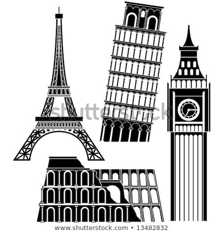 Bezienswaardigheden wereld Europa Stockfoto © Winner
