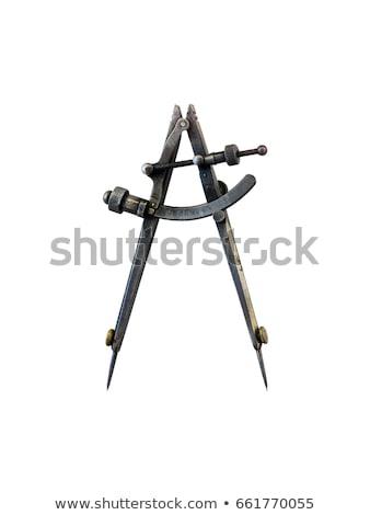 Old metal compass  Stock photo © jaycriss
