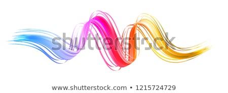 colorful swirl shape stock photo © imaster