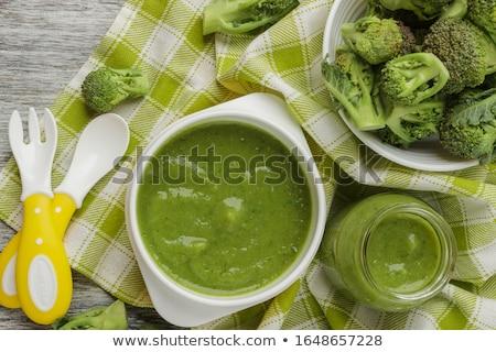 broccoli · zucchine · zuppa · crema · prezzemolo - foto d'archivio © nito