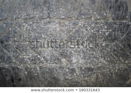 Zdjęcia stock: Starych · opony · streszczenie · powierzchnia · tle · opuszczony