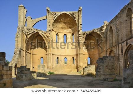 castillo · norte · torre · Chipre · mar · buque - foto stock © kirill_m