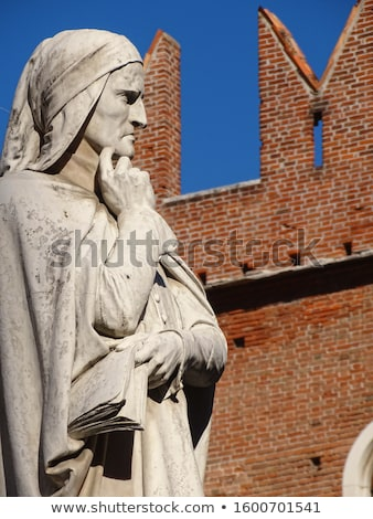 Dante Alighieri Statue, Verona Stock photo © marco_rubino