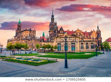 Dresden in Saxony Stock photo © prill