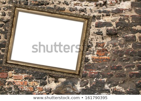 Framed picture precious stones Stock photo © arlatis