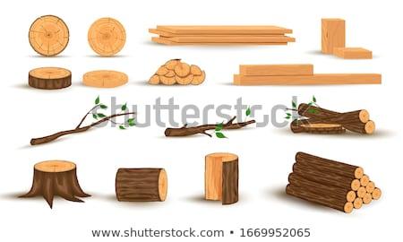 fogueira · desenho · animado · estilo · estrelas · doente · chocolate - foto stock © brittenham