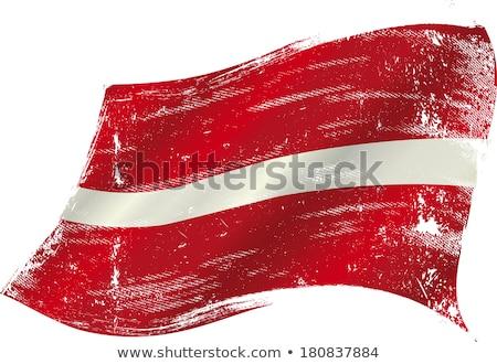 latvian grunge flag stock photo © tintin75
